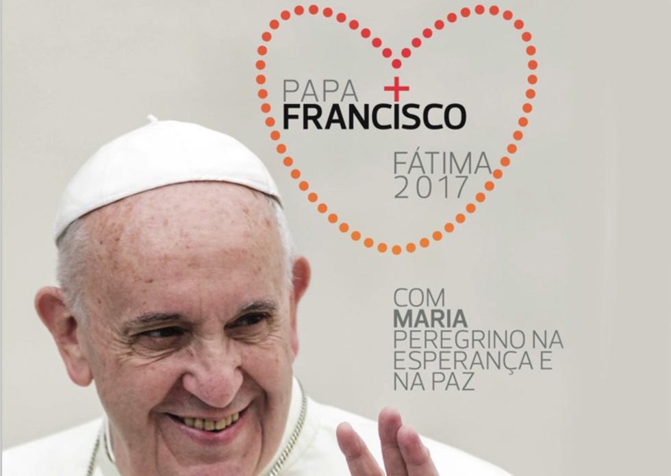 Santuário de Fátima apresenta imagem oficial da visita do papa Francisco