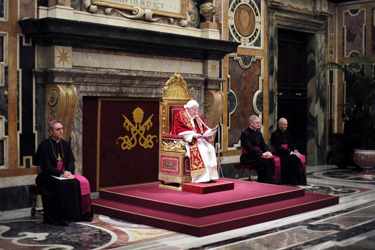 VATICAN POPE LAST DAY