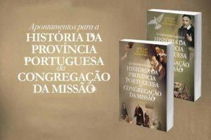 Publicações: Apresentação de dois volumes sobre a Congregação da Missão