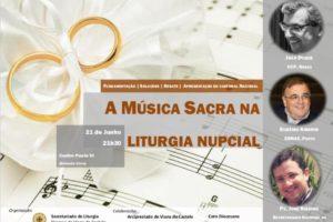 Viana do Castelo: Encontro sobre «Música Sacra na Liturgia Nupcial»