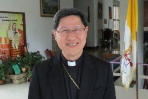 Fátima: Cardeal de Manila preside à peregrinação do 13 de maio em 2019