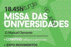 Lisboa: D. Manuel Clemente preside à «Missa das Universidades»