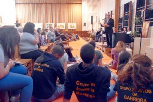 Leiria-Fátima: Encontros vicariais entre o bispo da diocese e os jovens