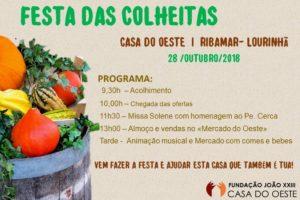Lisboa: Casa do Oeste realiza a festa das colheitas
