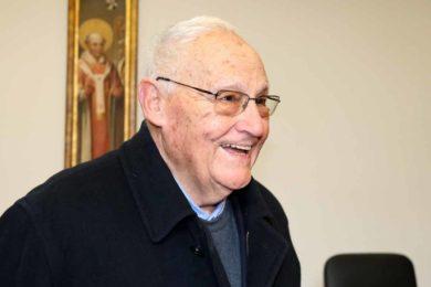 Bragança: Homenagem ao padre Telmo Ferraz no dia de aniversário