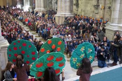 Braga: Representação «São Geraldo e o Milagre da Fruta»