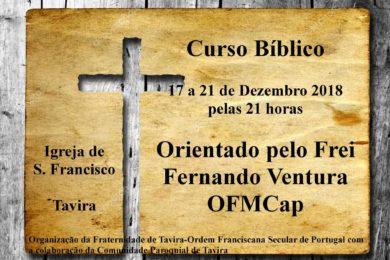 Algarve: Curso bíblico orientado por frei Fernando Ventura