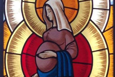 Lisboa: Bênção das grávidas na Basílica dos Mártires