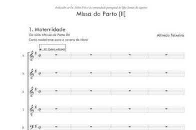 Natal: Estreia absoluta de «Missa do Parto» de Alfredo Teixeira