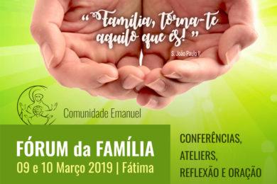 Fátima: Fórum sobre «Família, torna-te aquilo que és!»