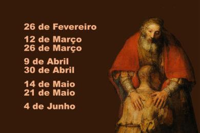 Franciscanos: Leitura espiritual do Evangelho de São Lucas no Convento do Varatojo