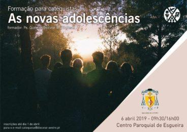 Aveiro: Formação para Catequistas sobre «As novas adolescências»