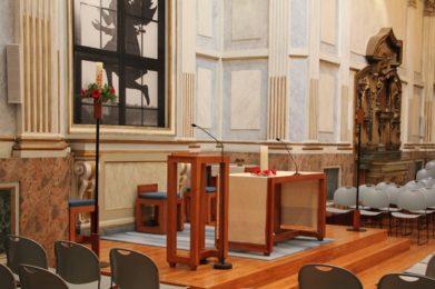 Lisboa: A «Anunciação a Nossa Senhora» evocada na Capela do Rato