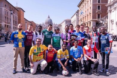 Igreja/Desporto: Torneio de futebol entre padres e seminaristas que estudam em Roma
