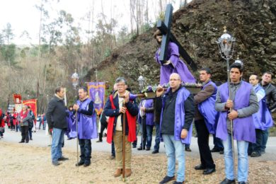 Quaresma: Via Sacra de Dornes presidida por D. Antonino Dias