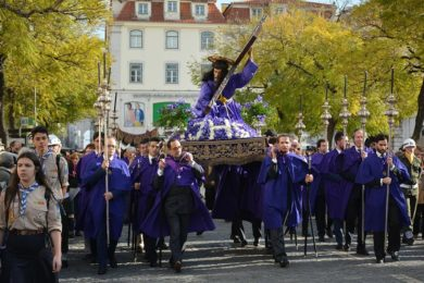 Lisboa: Procissão quaresmal do Senhor dos Passos da Graça
