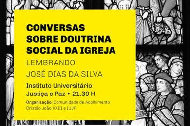 Coimbra: Recordar José Dias da Silva e conversar sobre Doutrina Social da Igreja