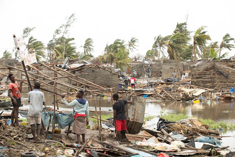 Solidariedade: Campanhas para ajudar as vítimas do ciclone em Moçambique