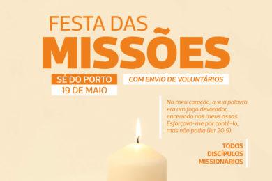 Porto: Envio de missionários na festa das missões