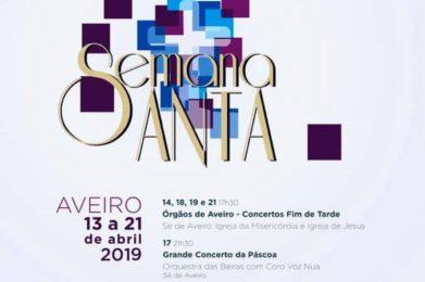 Aveiro: Município divulga programa para a Semana Santa 2019