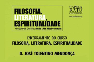 Lisboa: D. José Tolentino Mendonça encerra curso de «Filosofia, Literatura, Espiritualidade» da Capela do Rato
