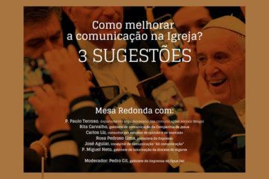 Media: «Como melhorar a comunicação da Igreja?»