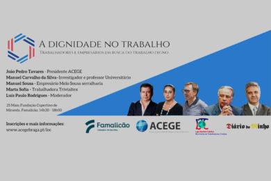 Braga: Trabalhadores e empresários falam sobre «Dignidade no Trabalho»