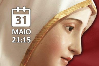 Coimbra: Procissão de velas no encerramento do «Mês de Maria»