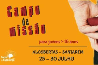 Santarém: Campo de férias Missionário em Alcobertas