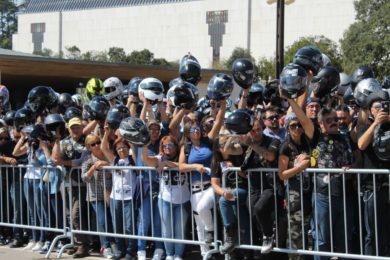 Fátima: Bênção dos Capacetes no santuário mariano