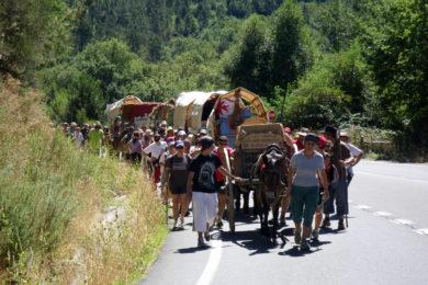 Braga: Grupo espanhol faz um «campamento arryero»
