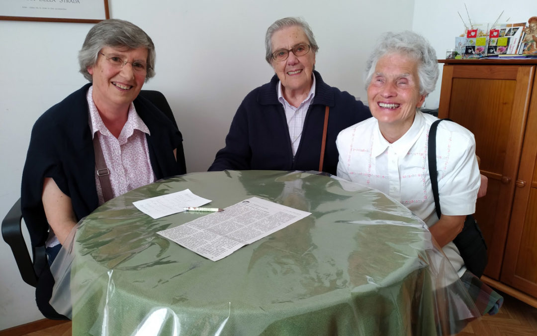"""Vida Consagrada: """"Trabalhar em equipa"""" numa comunidade idosa, irmãs Doroteias – Emissão 16-07-2019"""