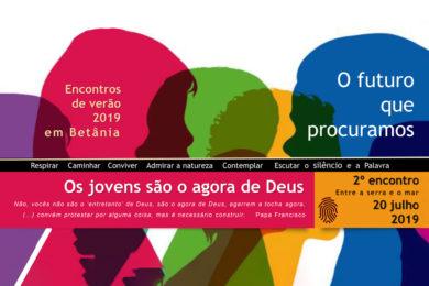 Espiritualidade: Encontro «Os jovens são o agora de Deus» em Betânia