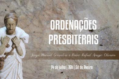 Aveiro: Ordenação de dois sacerdotes na Sé