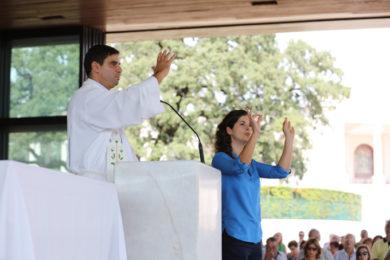 Fátima: Santuário acolhe quinta peregrinação da comunidade surda em Portugal (c/vídeo)