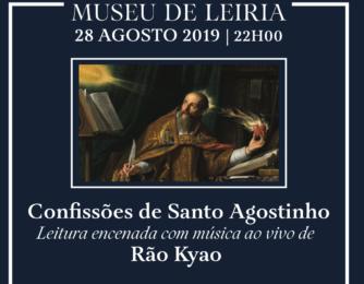 Igreja/Cultura: Museu de Leiria recebe leitura de excertos das «Confissões de Santo Agostinho»
