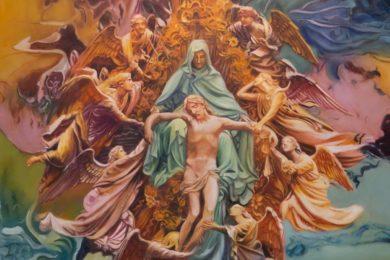 Lisboa: Igreja de Nossa Senhora da Conceição Velha acolhe exposição «Pietá» de Santiago Belacqua