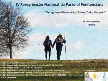 Portugal: Pastoral Penitenciária peregrina ao Santuário de Fátima