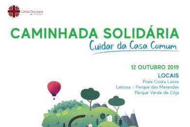 Coimbra: Cáritas alerta para questões ambientais através de caminhada solidária