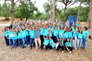 UCP: Novos alunos vão semear milhares de pés de produtos hortícolas