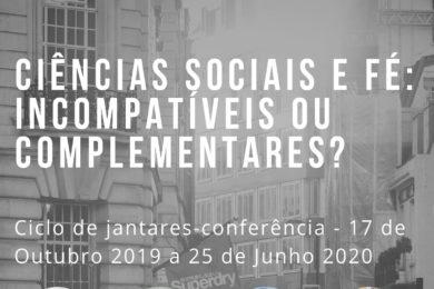 Formação: Ciclo de conferências sobre a interseção entre ciências sociais e fé