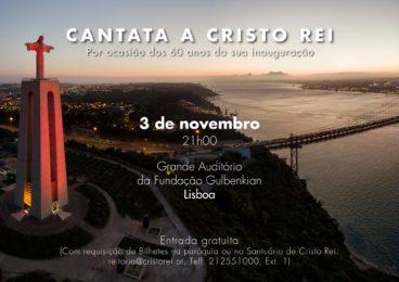 Setúbal: Cantata a Cristo Rei executada na Fundação Calouste Gulbenkian