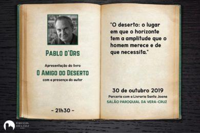 Aveiro: Teólogo Pablo D'Ors lança livro na Paróquia da Vera-Cruz