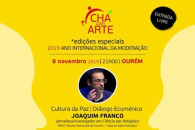 Igreja/Cultura: Iniciativas no «Chá com Arte» para celebrarem o Ano Internacional da Moderação