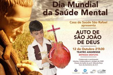Açores: Apresentação do Auto de São João de Deus no Dia Mundial da Saúde Mental