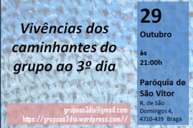 Braga: Sessão de apresentação do «Grupo ao 3º Dia» na Paróquia de São Vítor
