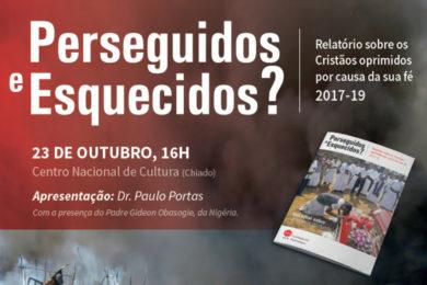 Liberdade Religiosa: Paulo Portas apresenta relatório «Perseguidos e esquecidos?»