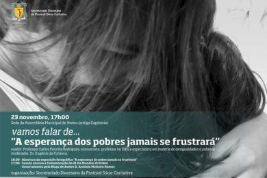 Aveiro: Pastoral Sociocaritativa promove reflexão pelo Dia Mundial dos Pobres