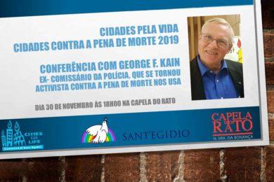 Lisboa: Conferência contra a pena de morte na Capela do Rato