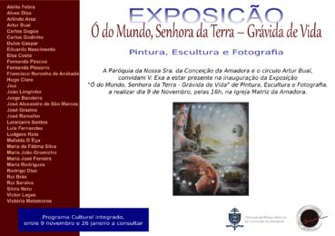 Amadora: Exposição na Igreja Matriz desafia artistas a reinterpretar a Gravidez